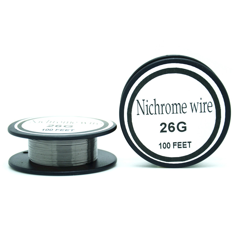 Nichrome wire 26 Gauge 100 FT 0.4mm Resistance Resistor AWG-in Cable ...