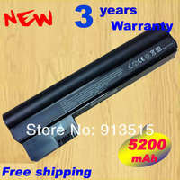 New Black 6 Cell 4400mAh Laptop Battery For HP Compaq Mini 110 3000 607762 001 CQ10