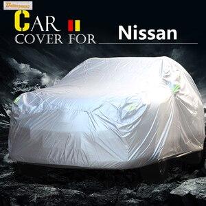 Чехол для автомобиля Buildreamen2, защита от УФ-лучей, дождя и снега, водонепроницаемый чехол для Nissan Armada Micra Rogue Cefiro Maxima Cima