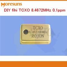 Быстрая Звук DIY фихи TCXO 8.4672 мГц 0.1ppm/27.000 мГц/33.8688 мГц 0.1ppm Позолоченные версия кварцевый генератор