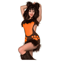 LMFC Anime Cosplay Cats Adult Costume Sexy Halloween Costumes For Women Performance Party Clubnight Suit Carnavalskleding