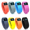 Heart Rate Smart Bracelet Watch Heart Rate Monitor Smart Band Wireless Fitness Tracker Wristband for Android iOS PK ID107 MIband