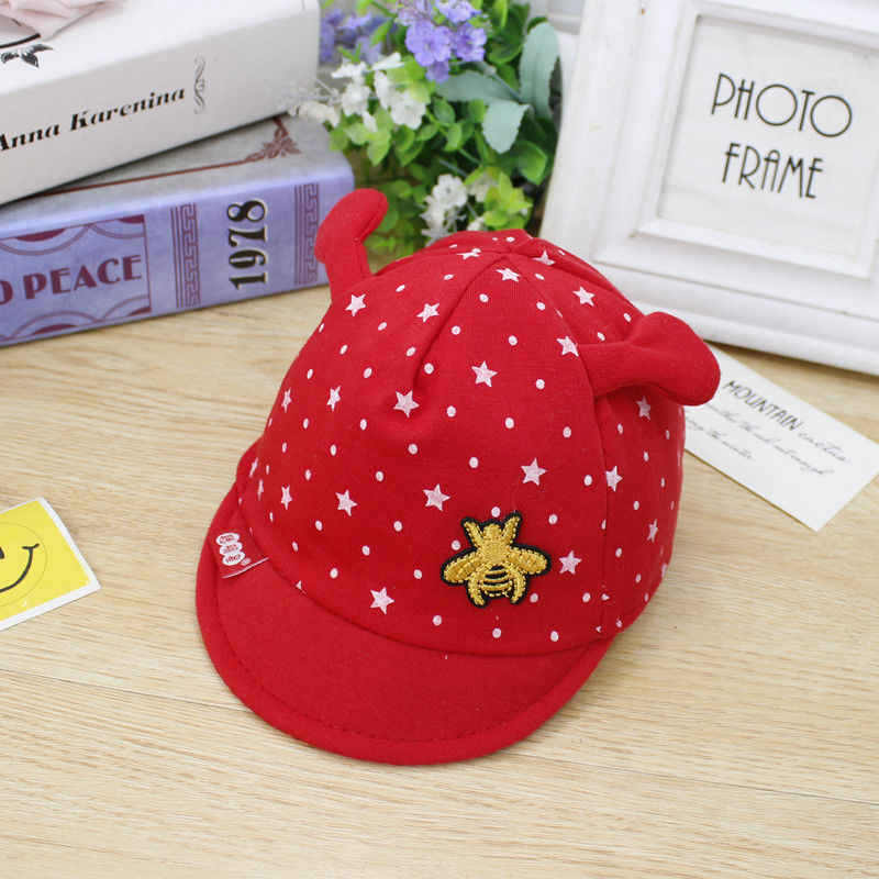 1100cd64b29 ... 5 Color Baby Cute Animal Sun Hat Newborn Boy Girl Toddler Cotton Summer Cap  For 0 ...