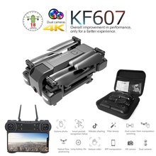Newest KF607 Quadcopter with Wifi FPV 1080P 4K HD Dual Camera Optical Flow Selfie Drone