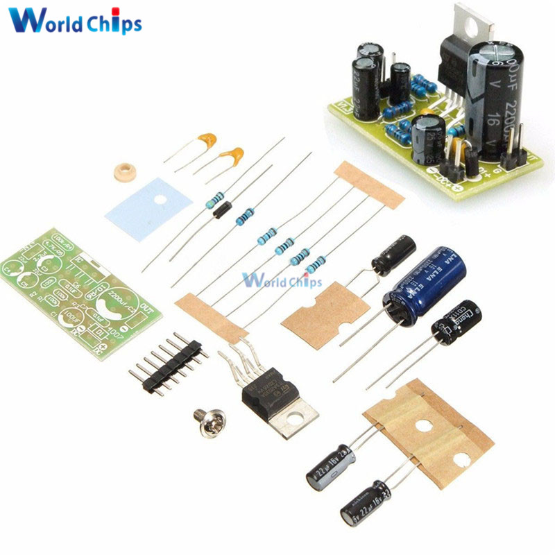 TDA2030A Electronic Audio Power Amplifier Board Mono 18W DC 9-24V DIY Kit