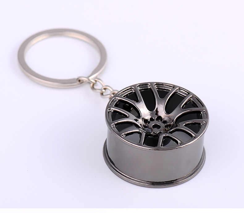 Araba anahtarlık jant lastik şekillendirici yaratıcı araba anahtarlık oto araba anahtarlık anahtarlık BMW Audi Honda Ford yeni