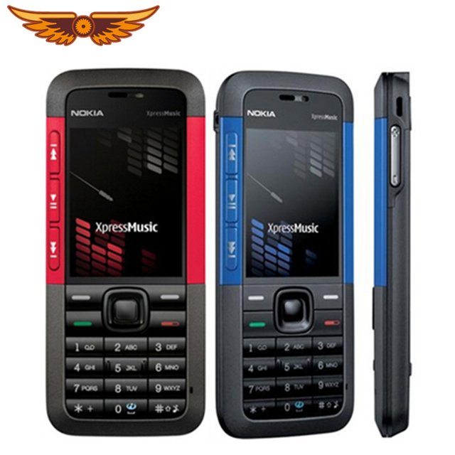 מקורי סמארטפון נוקיה 5310 XpressMusic Bluetooth Java MP3 נגן תמיכה רוסית מקלדת משופץ טלפון משלוח חינם