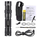 NiteCore MH10 XM-L2(U2) 7 Modes 1000LM Longshot 232M USB Rechargeable Waterproof 2M Multitask Tactical Outdoor LED Flashlight