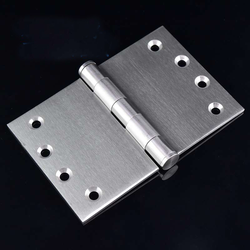 Widening and Thickening 4 Inch Stainless Steel Hinge Heavy Door Gate Bearing Hinge 2PCS 50 percent off stainless steel gate door wall suction magnetic p41 strong resistance