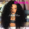 8A Lace Front Human Hair Wigs Full Lace Human Hair Wigs For Black Women Malaysian Kinky Curly Wig 180% Curly Lace Frontal Wigs