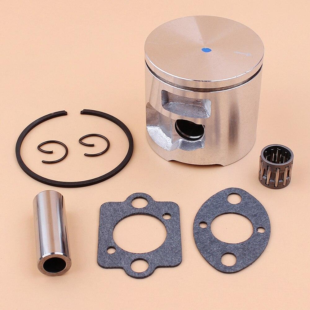 47mm Piston Bearing Carburetor Gasket Kit Fit Husqvarna 455 Rancher 455E Gasoline Chain Saws Spare Parts 537 29 30 02