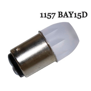 Image 3 - 100Pcs 뜨거운 판매 1156 ba15s 3 SMD 5630 홍수 렌즈 LED 1157 bay15d 회전 신호 조명 브레이크 중지 빛 램프 웨지 라이트 화이트 레드