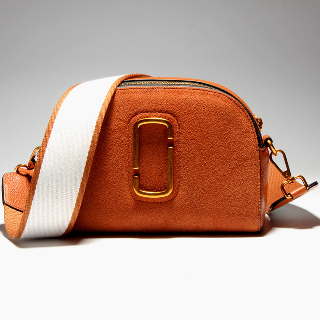 c505b877613f Women ancient nubck Messenger Bag Genuine Leather camera bag shell bag  Women s Double shoulder strap Leisure