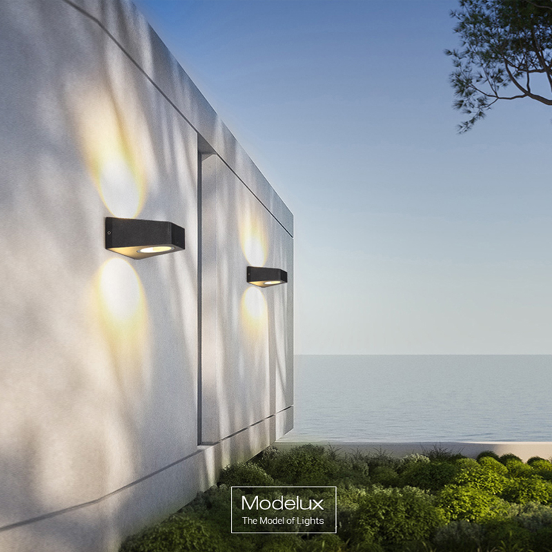 Modern Wall Lamp Hotel Exterior Waterproof Wall Lamps Outdoor Garden Wall  Light Luxury Home LED Lighting Creativity Porch Lights In LED Outdoor Wall  Lamps ...
