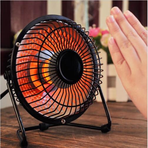 Portable Mini Desktop Hand Electric Heater Feet Fan Heaters Winter Warmer 250w Wire