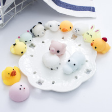 1PCS Mini Squishy Slow Rising Fidget Fun Cute Animal Decompression Hand Stress Toy Rubber Toys Giocattoli Funny Gummy
