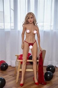 Image 5 - Bambole del sesso 150 centimetri #3 Pieno TPE con Scheletro Adulto Giapponese Bambola di Amore Della Vagina Realistica Figa Realistico Sexy Bambola per Gli Uomini