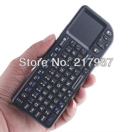 2.4GHz 2.4G Wireless Rii Mini PC Keyboard with Touchpad for Raspberry PI,PC,HTPC BT0073-RP A701
