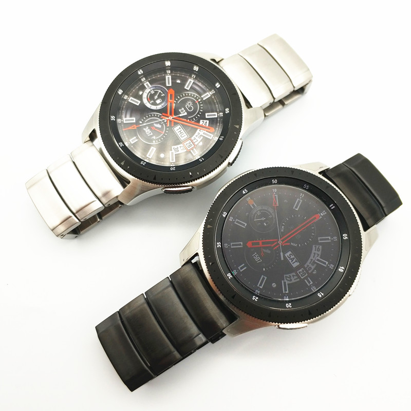Metal Stainless Steel Watch Wrist Band Strap For Samsung Galaxy Watch Gear S3 Classic Frontier Huawei Watch 2 Pro Watch Straps