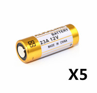 5pcs/Lot Small Battery 23A 12V 21/23 A23 E23A MN21 MS21 V23GA L1028 Alkaline Dry Battery