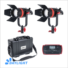 2 Pcs CAME TV Q 55W Boltzen 55w MARK II High Output Fresnel Focusable LED Daylight Kit Led video light