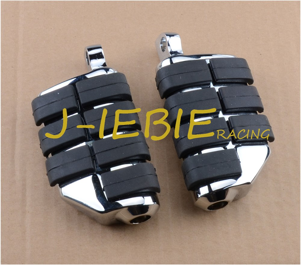New ANTI VIBRATION RUBBER LION PAW FOOTPEGS FOOT PEGS FOR HARLEY DAVIDSON CHROME new oil pump fit for toyota 20r coaster celica corona 15100 38021