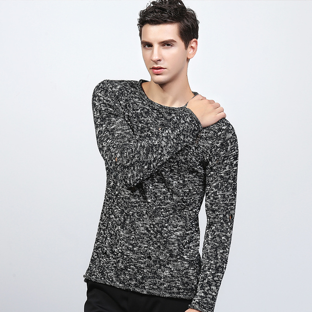 2016 New style   fashion brand clothing men pullover mens sweaters long cashmere  sweater men pulover mens turtleneck