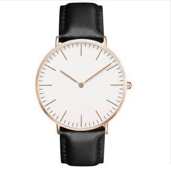 2018 Luxury Brand Women Watch Ultra Thin Leather Band Quartz Watch Fashion Lovers Wristwatch Ladies Watches Zegarek Damski Clock