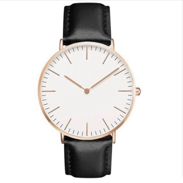 2018 Luxury Brand Women Watch Ultra Thin Leather Band Quartz Watch Fashion Lover