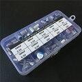 Juego surtido de condensadores sólidos de 10 valores 90 piezas 2,5 V/4 V/6,3 V/16 V 100uF 270uF 330uF 470uF 560uF 680uF 1500uF con libre caja de almacenamiento