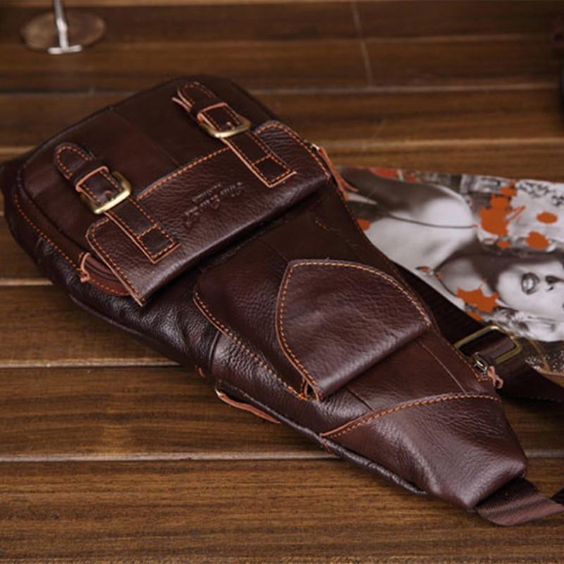 Нов тренд за мъже от естествена кожа, - Дамски чанти - Снимка 3
