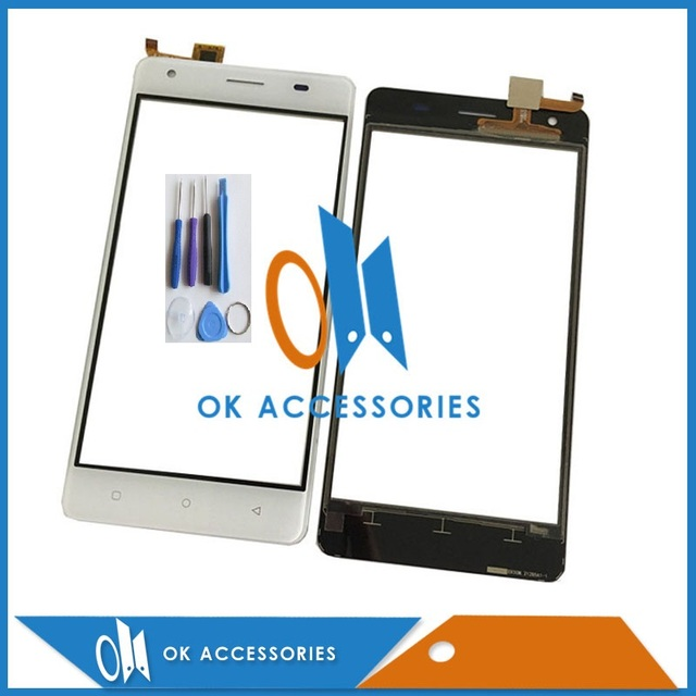 Black White Color For Oukitel C5 Pro Touch Screen Panel Glass Good Quality 1pc/lot With Tools