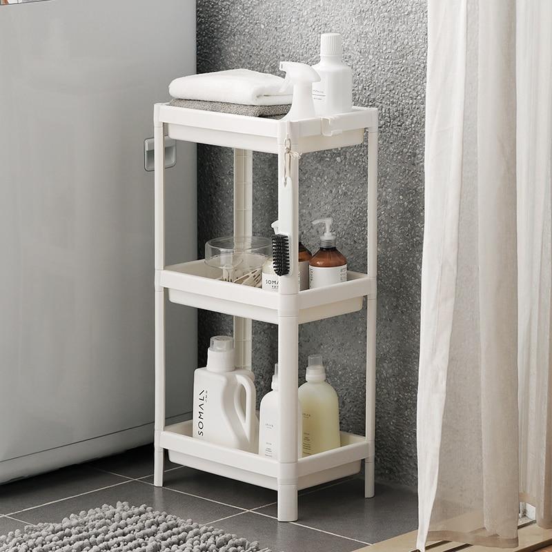 Bathroom landing rack drain shelf bathroom storage rack kitchen storage rack multilayer LO5191054 цены онлайн
