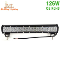 126W 20Inch With CREE LED Chips Work Driving Light DC24V atv emergency lights For Truck Tractor SUV Boat 4X4 4WD ATV Jeep