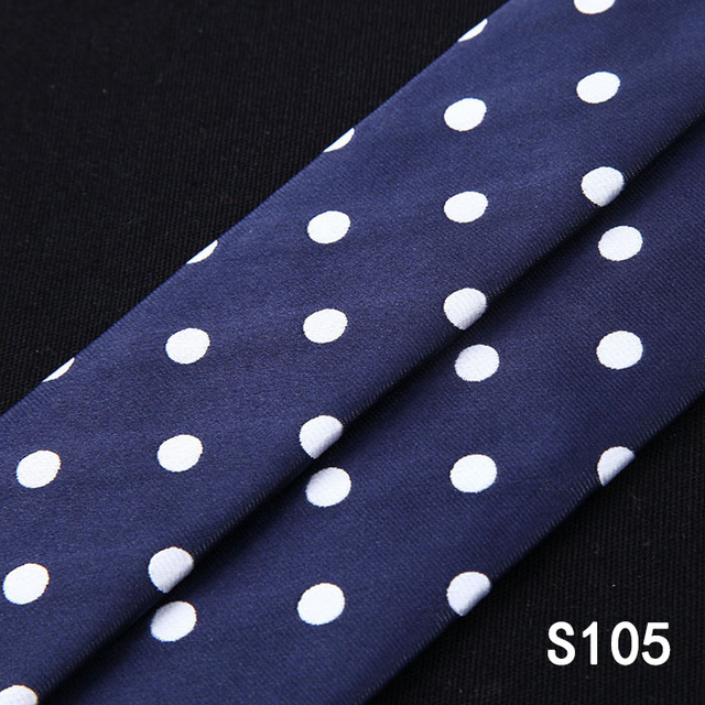 Polka Dot Various Classic 6 Clips  Suspender&Bowtie and Pocket Square Set #S1