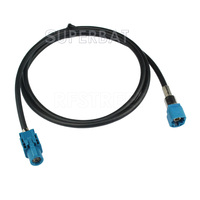 Superbat New Vehicle High Speed Transmission FAKRA HSD Z Water Blue LVDS 1m Shielded Dacar 535