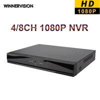 4 8 Channel Super Mini NVR Full HD Network Video Recorder Surveillance 4Ch 8Ch NVR Cloud