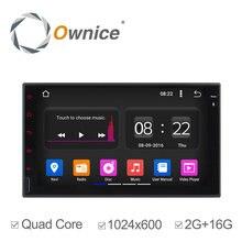 Ownice C180 2 din Android 5.1 Quad Core Universel De Voiture Radio DVD GPS Navi Bluetooth Soutien 3G DVR Numérique TV 2G/16G pas dvd