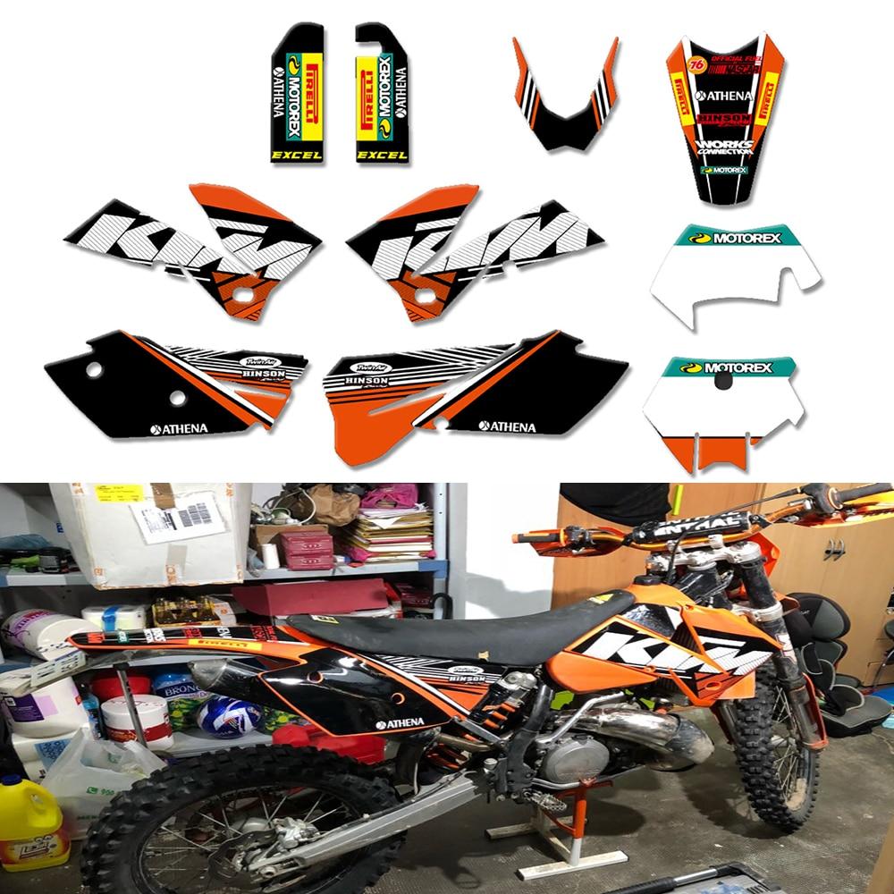 Fits KTM 250 SX 2013 2014 2015 2016 Trophy Sticker Kit Graphics /& Seat Cover