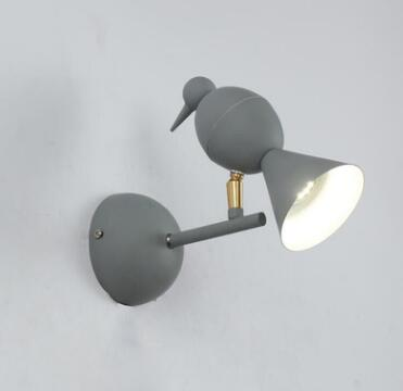 Modern Creative Bird Wall Sconces Modern LED Wall Light Fixtures For Bedroom Bedside Led Wall Lamp for Home Lighting WWL159 modern wall lamp glass ball led wall sconces bedside wall light fixture bedroom luminaria home lighting vintage lamp
