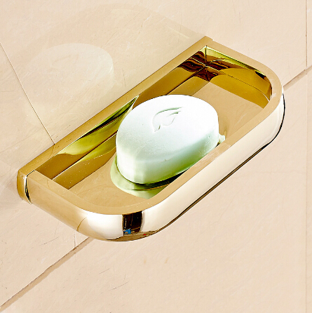 Brass Metal soap dish Wall Mounted Bathroom Accessories Product Solid Brass Soap Holder Copper Soap Dish Holder european style brass antique bronze solid brass bathroom soap holder soap basket bathroom accessories soap dish bathroom shelf