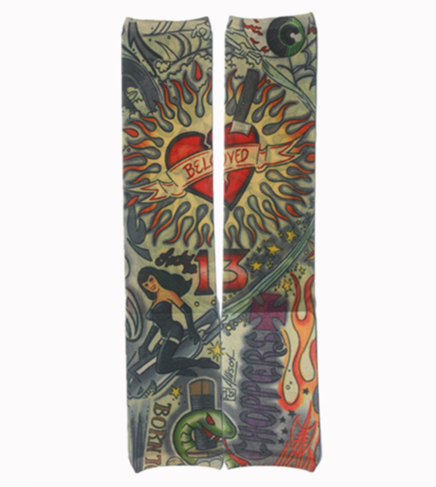 Online buy wholesale fake tattoo sleeves from china fake for Wholesale temporary tattoos