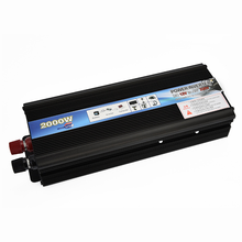 inverter off grid high frequency car pure sine wave solar system 2000W