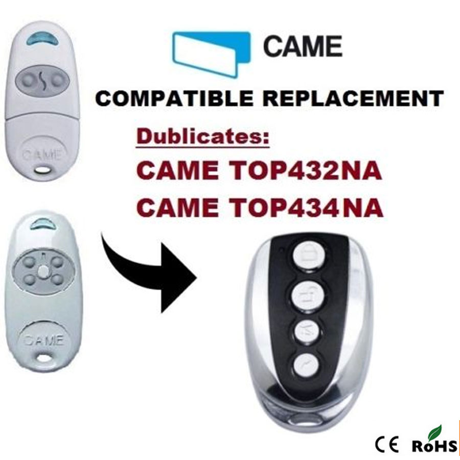 high quality Duplicator CAME TOP432NA , 433.92mhz remote control (with battery)