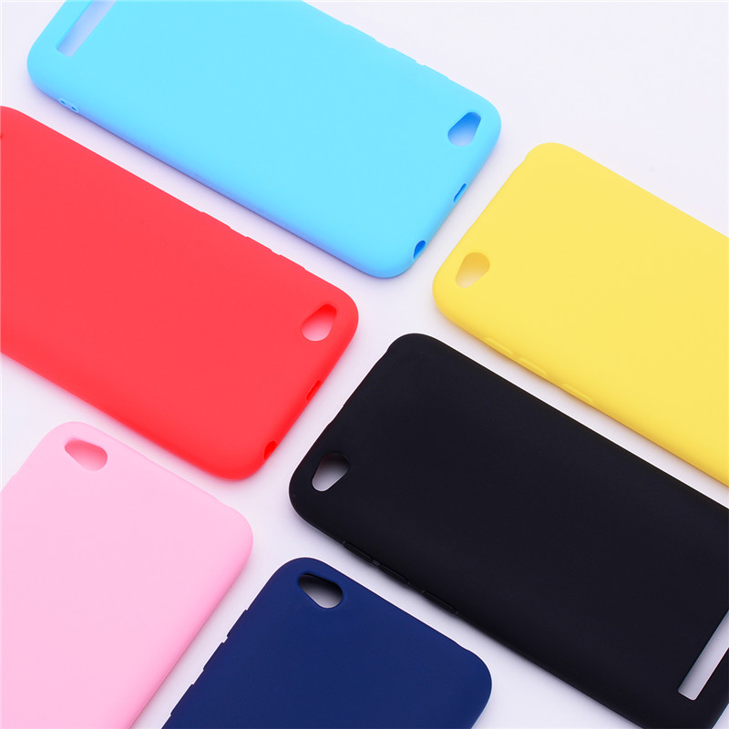 Silicone Case On For Fundas Xiaomi Redmi 5A Case Soft TPU Color Matte Back Cover For Xiaomi Redmi 5A Case Skin Cell Phone Cases