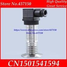Sensore trasmettitore di livello del liquido sanitario di tipo ad alta temperatura trasmettitore di pressione a film piatto 50.5 flangia tri clamp