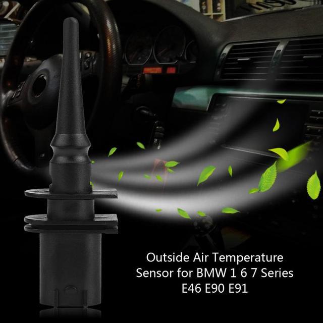 Aliexpress Com Buy Car Outside Air Temperature Sensor For Bmw 1 6 7 Series E46 E90 E91 65816905133 Car Styling From Reliable Temperature Sensor