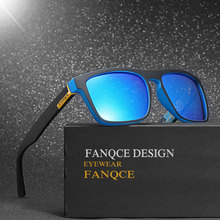 Polarized 2018 New Hot Brand Designer Sunglasses Men Women For Car Driving Squared Rayed Mirror Sun Glasses Male Femlae Cool