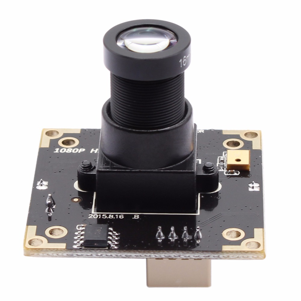 ELP 2MP/3MP 2048*1536 WDR 100db H.264 OTG Support USB Camera Module with 16mm lens for application in ATM,Kiosk,POS,TV box