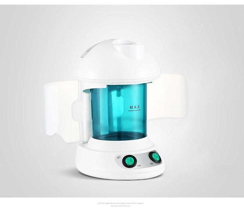 Vapeur Portable Ozone facial vapeur soins du visage peau relax hydratant beauté arôme à base de plantes vaporisateur vaporisateur visage Spa dispositif-in Vapeur pour le visage from Appareils ménagers    3